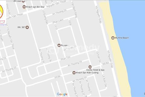 Cần tiền bán gấp đất biển tuyệt đẹp 2 mặt tiền đường Đỗ Bá và Trần Bạch Đằng, Đà Nẵng cách biển