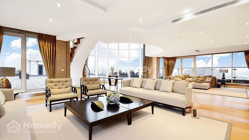 Bán căn hộ the vista 3PN 140m2 nội thất đầy đủ lầu cao - 1