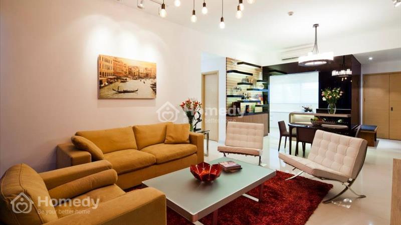 Cho thuê Penthouse The Vista 4 phòng ngủ 173 m2 full nội thất, view sông - 1