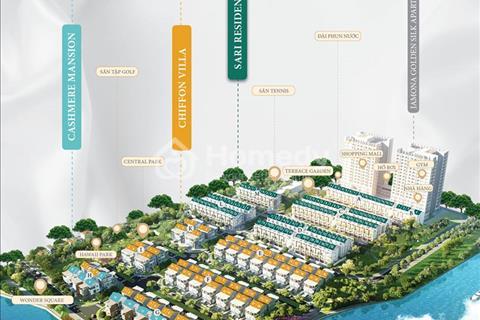 Khu nhà liên kề và biệt thự nằm cạnh sông Sài Gòn, gần ngay trung tâm quận 1