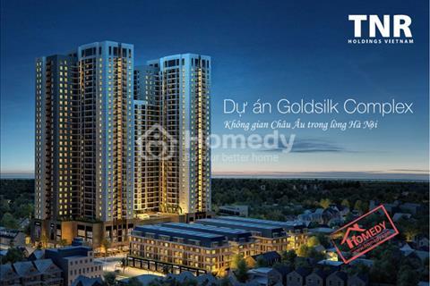 Goldsilk Complex - Vạn Phúc. Nhận nhà ngay 8/2017, giá từ 18,6 triệu/m2, chiết khấu lên tới 7,5%