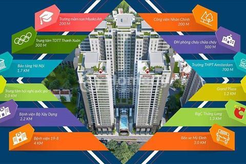 Cắt lỗ chung cư Việt Đức Complex còn 2,1 tỷ/căn hộ, 3 phòng ngủ, cạnh công viên 13 ha
