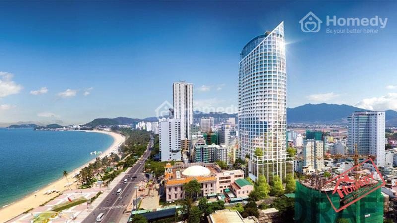 Căn hộ view 100% biển Nha Trang 4 mặt tiền full đồ, bể bơi vô cực tại nóc tòa nhà - 6