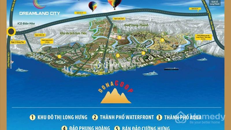 Mở bán giai đoạn 1 KĐT Cường Hưng Sân Golf Long Thành 6 triệu/m2 DT 100m2-500m2. TT 6 tháng LS 0%  - 2
