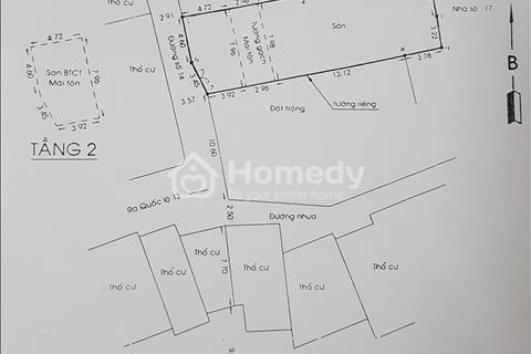 Cần bán nhà xưởng 200 m2 - quốc lộ 13, quận Thủ Đức