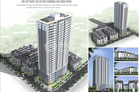 Mở bán đợt 1 chung cư 89 Thịnh Liệt, 55 m2 - 56 m2 - 62 m2 - 77 m2 - 82 m2, giá từ 1,2 tỷ/căn