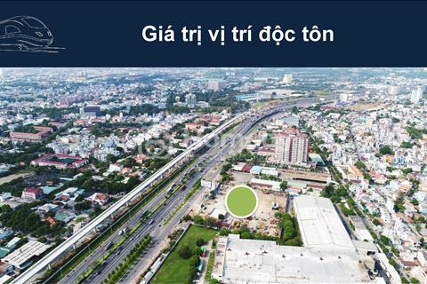 Căn hộ quận 9 chỉ 1,15 tỷ/căn ngay mặt tiền Xa Lộ Hà Nội, đối diện Metro số 1
