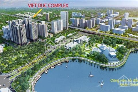 Chung cư việt Đức Complex - 99 Lê Văn Lương, giá tốt nhất quận Thanh Xuân, view hồ 13ha chỉ 23tr/m2