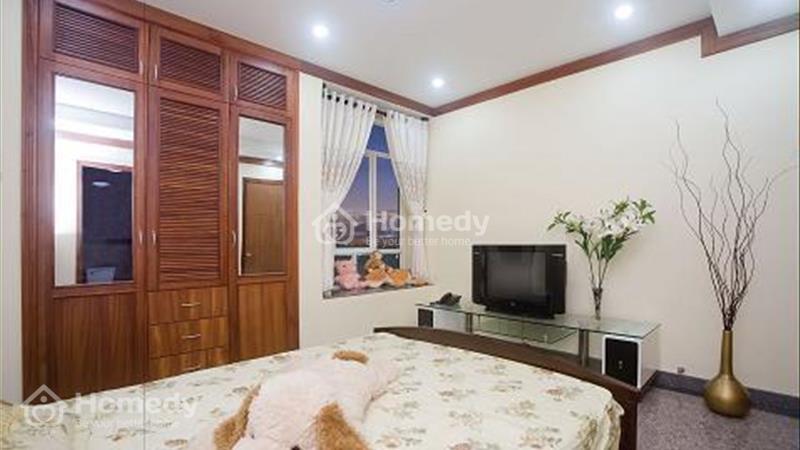Cho thuê căn hộ Hoàng Anh River View 4 phòng ngủ 162 m2 view hồ bơi - 1
