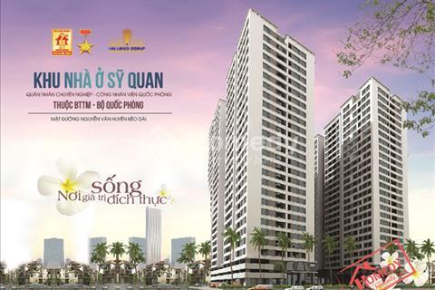 Cho thuê căn hộ chung cư CT2 Xuân Đỉnh, giá 5 triệu/táng, 65 m2, đối diện công viên Hòa Bình