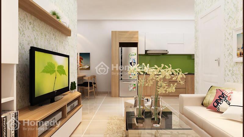 Cho thuê căn hộ chung cư lô A 199, 3 phòng ngủ, 2WC, không nội thất. Giá 6 triệu/tháng - 7