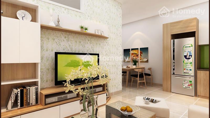 Cho thuê căn hộ chung cư lô A 199, 3 phòng ngủ, 2WC, không nội thất. Giá 6 triệu/tháng - 8