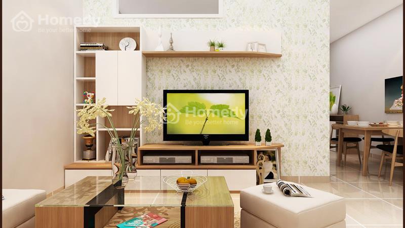 Cho thuê căn hộ chung cư lô A 199, 3 phòng ngủ, 2WC, không nội thất. Giá 6 triệu/tháng - 9