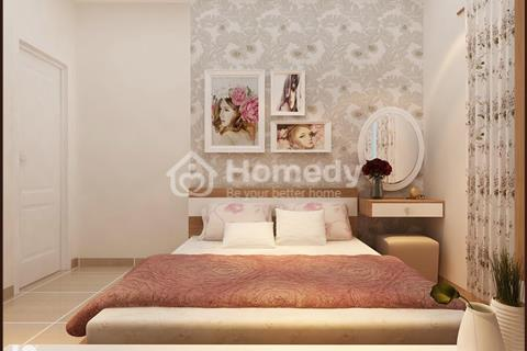 Cho thuê căn hộ chung cư lô A 199, 3 phòng ngủ, 2WC, không nội thất. Giá 6 triệu/tháng