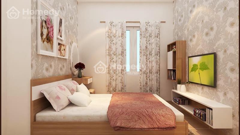 Cho thuê căn hộ chung cư lô A 199, 3 phòng ngủ, 2WC, không nội thất. Giá 6 triệu/tháng - 6