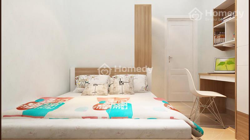 Cho thuê căn hộ chung cư lô A 199, 3 phòng ngủ, 2WC, không nội thất. Giá 6 triệu/tháng - 3