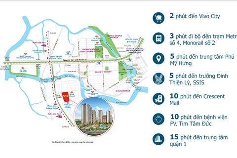Căn hộ SaiGon South Residence, dự án thuộc Phú Mỹ Hưng, tiện ích đa dạng, vị trí tiềm năng