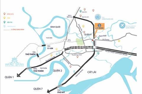 Căn hộ 3 mặt tiền ngay đại lộ Võ Chí Công chỉ từ 480 triệu
