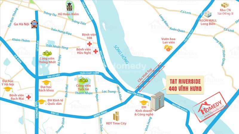 Chung Cư T&T Riverview - Giá Chủ Đầu Tư chỉ 1,8 tỷ/căn 90 m2 - Hỗ trợ vay lãi suất 0%-Nhận nhà ngay - 7