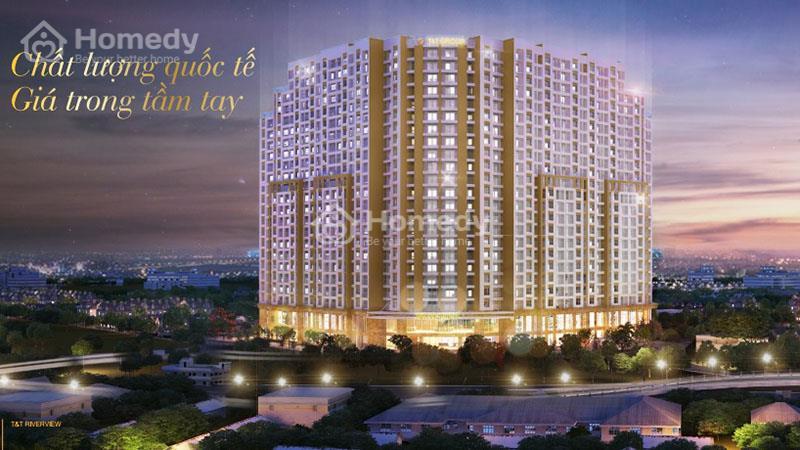 Chung Cư T&T Riverview - Giá Chủ Đầu Tư chỉ 1,8 tỷ/căn 90 m2 - Hỗ trợ vay lãi suất 0%-Nhận nhà ngay - 1
