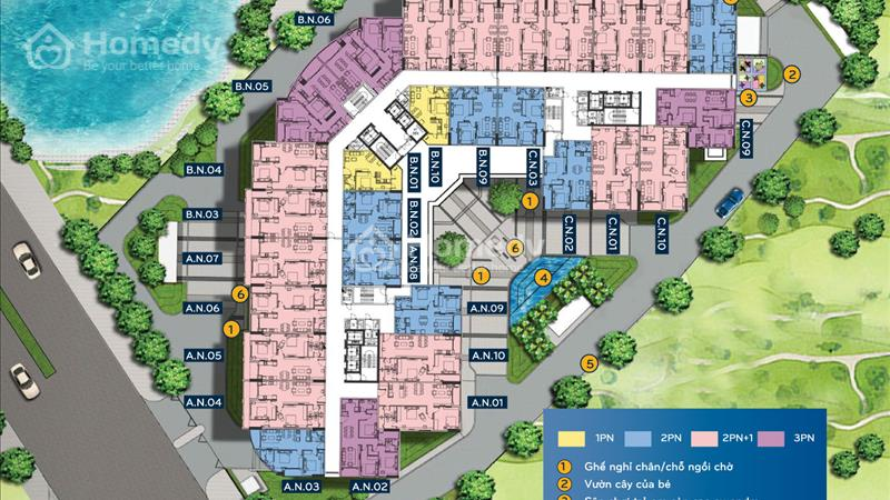 Chung Cư T&T Riverview - Giá Chủ Đầu Tư chỉ 1,8 tỷ/căn 90 m2 - Hỗ trợ vay lãi suất 0%-Nhận nhà ngay - 2