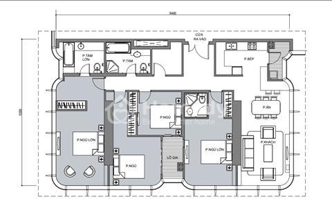 Số lượng có hạn chỉ có 3 căn tại tòa Landmark 81 biệt thự biệt lập trên không