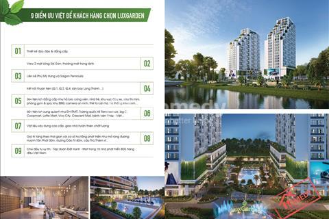 Căn hộ 2 mặt tiền sông liền kề Phú Mỹ Hưng, giá chỉ từ 23 triệu/m2