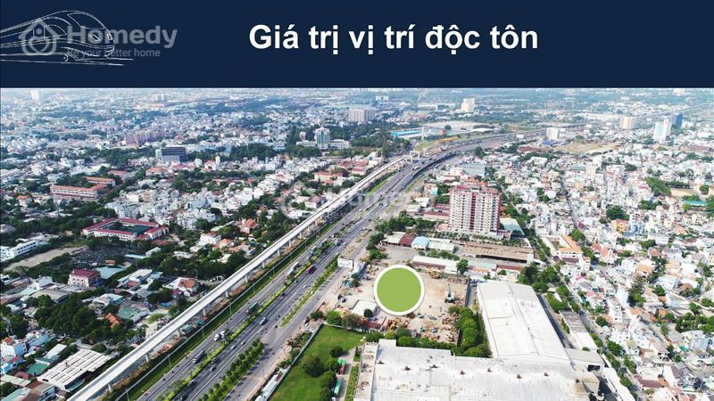 Hình chụp từ trên cao của dự án Saigon Gate