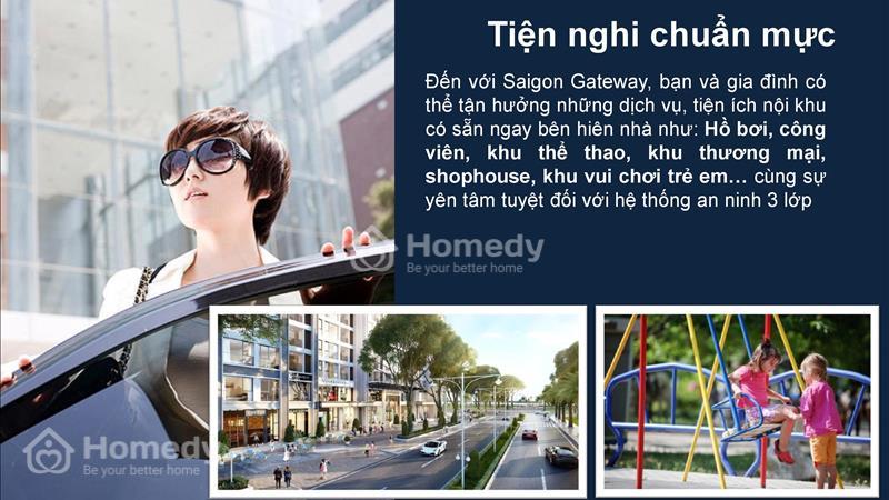 Saigon Gateway Quận 9 Thanh toán 179 triệu ký hợp đồng, vị trí vàng Ga Metro, tặng full Nội thất!!! - 5