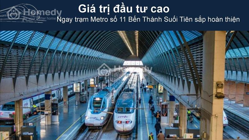 Saigon Gateway Quận 9 Thanh toán 179 triệu ký hợp đồng, vị trí vàng Ga Metro, tặng full Nội thất!!! - 6