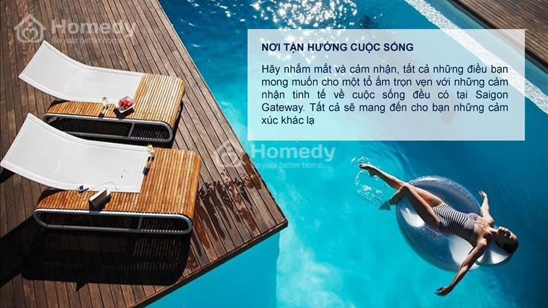 Saigon Gateway Quận 9 Thanh toán 179 triệu ký hợp đồng, vị trí vàng Ga Metro, tặng full Nội thất!!! - 4