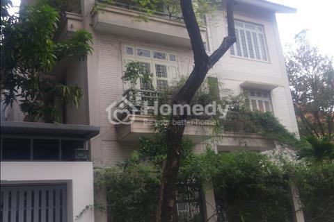 Cho thuê biệt thự khu Trung Hòa Nhân Chính - 130 m2 x 4 tầng - Mặt tiền 9 m - Giá 55 triệu/tháng