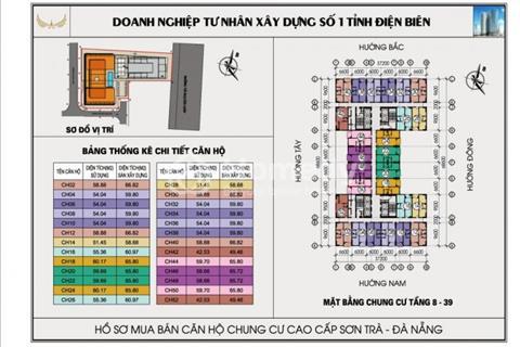 Bán căn hộ tại Đà Nẵng, bán gấp Mường Thanh view biển Mỹ Khê, rẻ hơn thị trường, nhiều căn đẹp