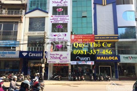 Cho thuê mặt phố Trung Hòa 90 m2, mặt tiền 15 m, 1 tầng