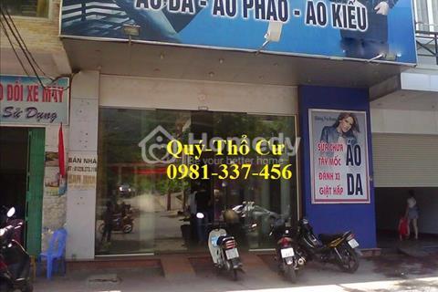Cho thuê mặt phố Quan Hoa 60 m2, mặt tiền 5,5 m. Giá 32 triệu/tháng