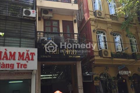 Bán nhà mặt phố Hàng Tre, Hoàn Kiếm, Hà Nội 60 m2, mặt tiền 3,3m, 5 tầng