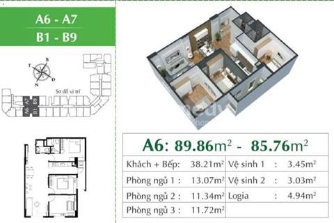 Chính chủ cần bán cắt lỗ căn 07 dự án Eco City Việt Hưng giá ưu đãi