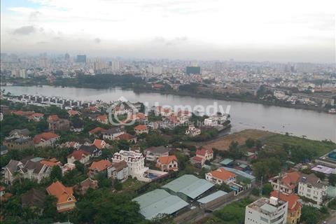 Cho thuê căn hộ Tropic Garden, tầng cao, view sông cực đẹp, full nội thất