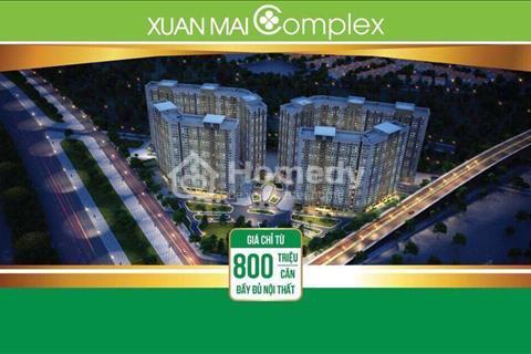 Mua nhà giá rẻ- Chất lượng thương mại – Chung cư Xuân Mai Complex