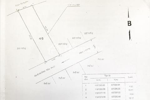 Bán gấp lô đất nền hẻm 803 đường Huỳnh Tấn Phát, Phú Thuận, quận 7