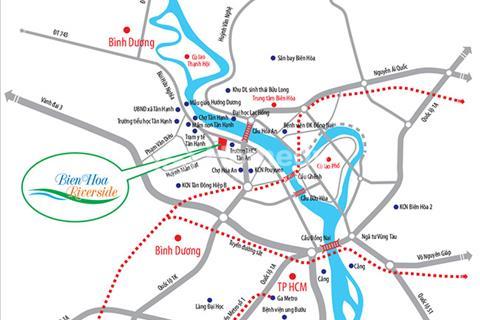 Bảng sản phẩm dự án Biên Hòa Riverside mặt tiền đường Bùi Hữu Nghĩa, Biên Hòa