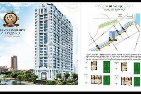 Cần bán lại căn góc 55 m2 tầng 7 Grand Riverside giá rẻ nhất thị trường