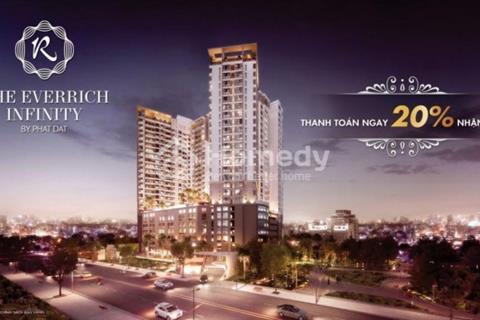 Bán căn hộ The Everrich Infinity, 3,6 tỷ nhận nhà ở ngay, tặng nội thất 500 triệu