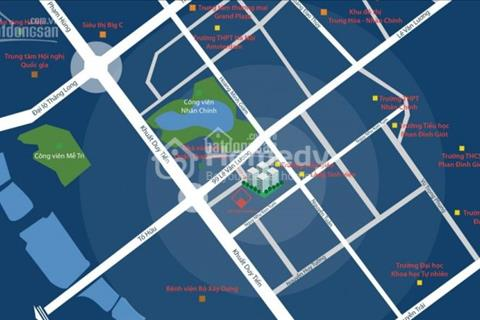 Căn hộ 3 phòng ngủ gía tốt nhất Trung Hòa Nhân Chính - 2,2 tỷ - 93m - view công viên Nhân Chính