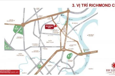 Mở bán block Riches dự án Richmond City, view sông, 2 mặt tiền