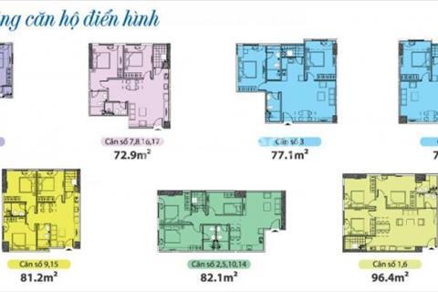 Giá thương lượng căn 1605, tòa Park 2, Eurowindow Đông Anh, giá tốt nhất