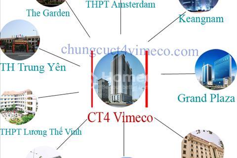 Cần bán căn hộ 1B, 1C tầng đẹp chung cư CT4 Vimeco