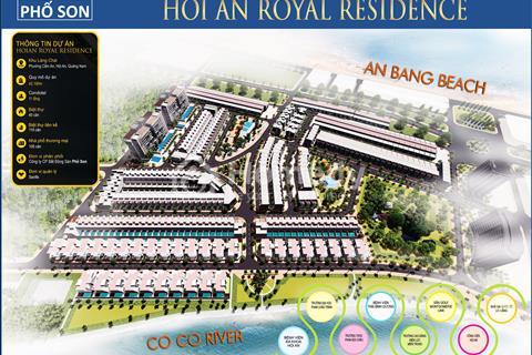 Mở bán giai đoạn 1 dự án Hội An Royal Residence, cạnh trung tâm phố cổ, cơ hội vàng cho đầu tư