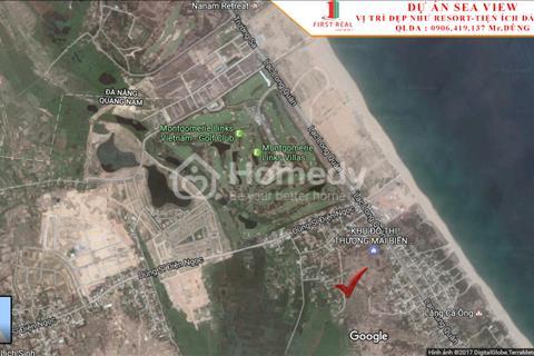 Khu đô thị SeaView, khu đô thị kề sông, cận biển duy nhất tại Quảng Nam - Đà Nẵng