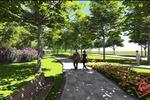 Những hàng cây xanhphân bố đều trên vỉa hèvàtrồng ở các phần đất trống,tạo cho cư dân một môi trường sống luôn trong lành, đảm bảosức khỏe.
